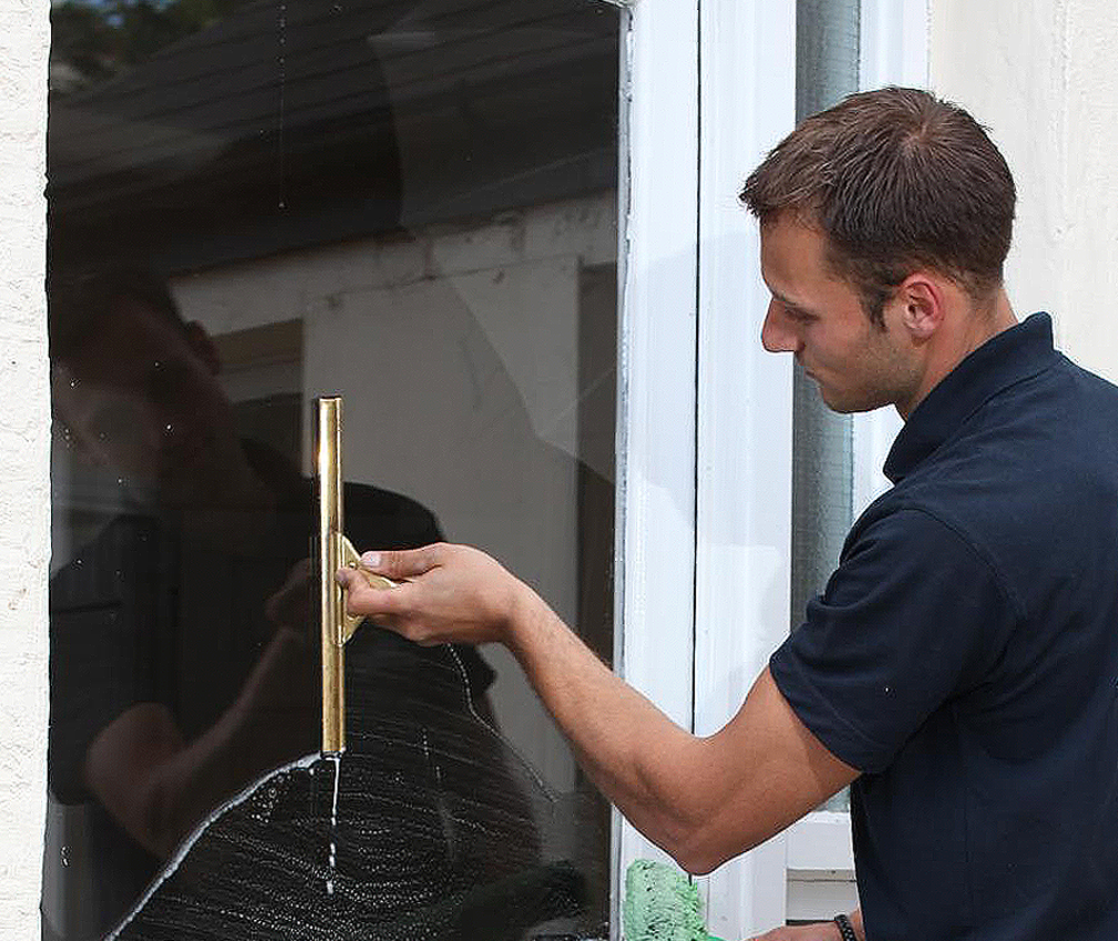 Window Cleaner with squeegee in Brentwood